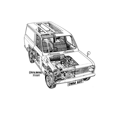 Classic Cars answer: BEDFORD VAN