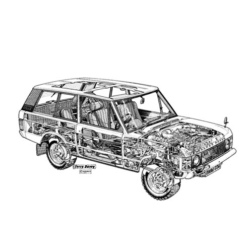 Classic Cars answer: RANGE ROVER