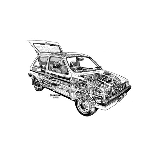 Classic Cars answer: MINI METRO