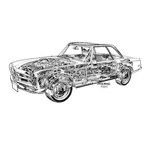 Classic Cars answer: MERCEDES 280SL