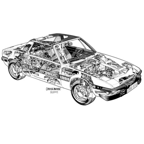 Classic Cars answer: FIAT X1-9
