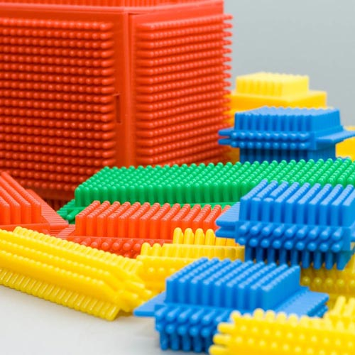 Classic Toys answer: BRISTLE BLOCKS
