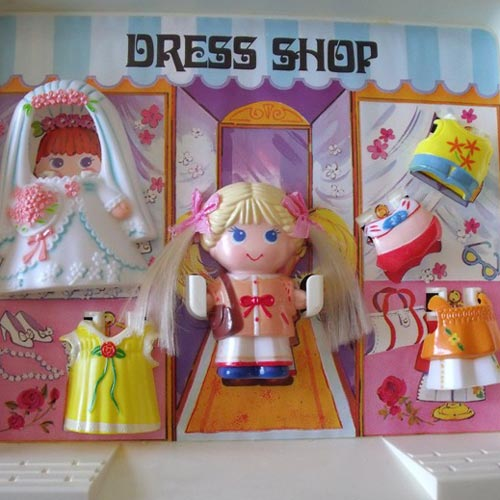Classic Toys answer: DOLLY POPS
