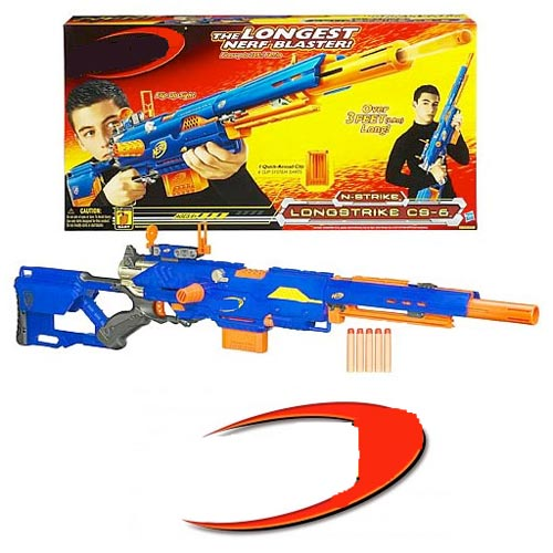 Classic Toys answer: NERF GUN