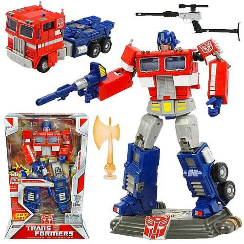 Classic Toys answer: OPTIMUS PRIME