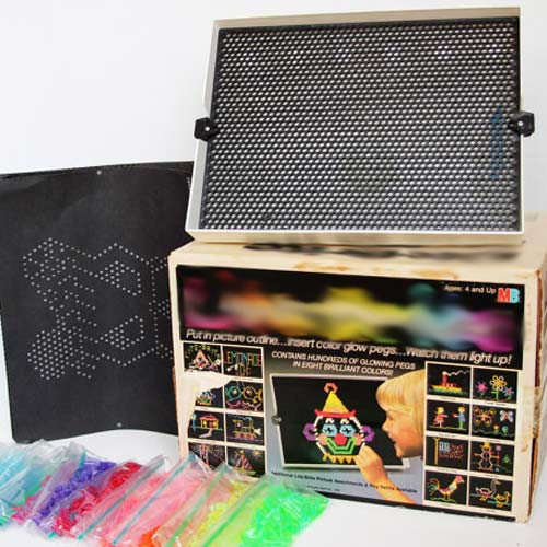 Classic Toys answer: LITE-BRITE