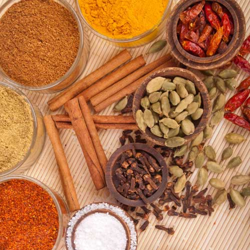 Cooking answer: SPICES