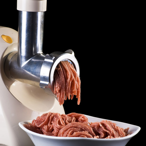 Cooking answer: MEAT GRINDER
