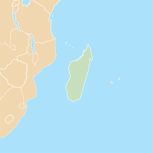 Countries answer: MADAGASCAR