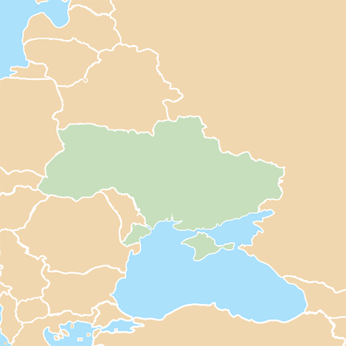 Countries answer: UKRAINE