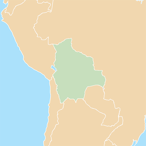 Countries answer: BOLIVIA