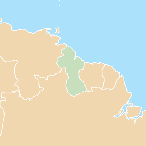 Countries answer: GUYANA