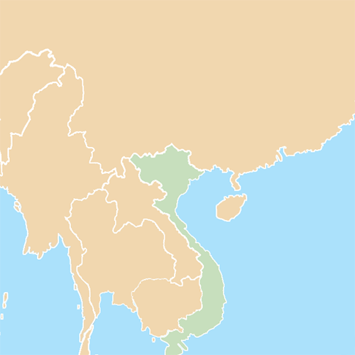 Countries answer: VIETNAM