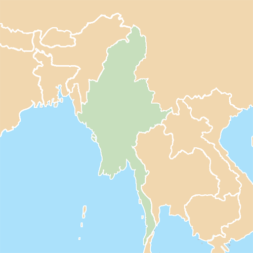 Countries answer: MYANMAR