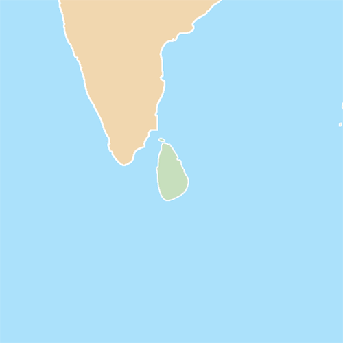 Countries answer: SRI LANKA