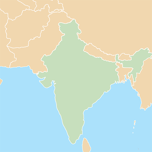Countries answer: INDIA