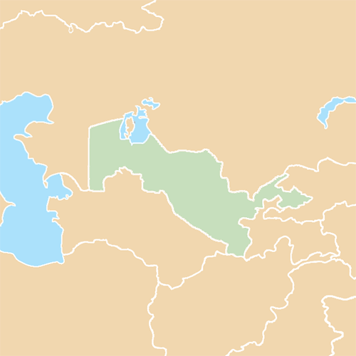 Countries answer: UZBEKISTAN