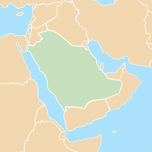 Countries answer: SAUDI ARABIA