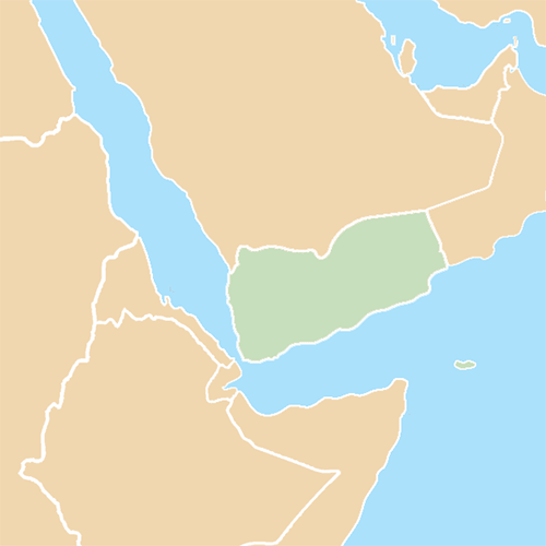 Countries answer: YEMEN