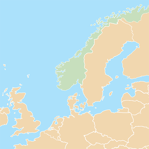 Countries answer: NORWAY