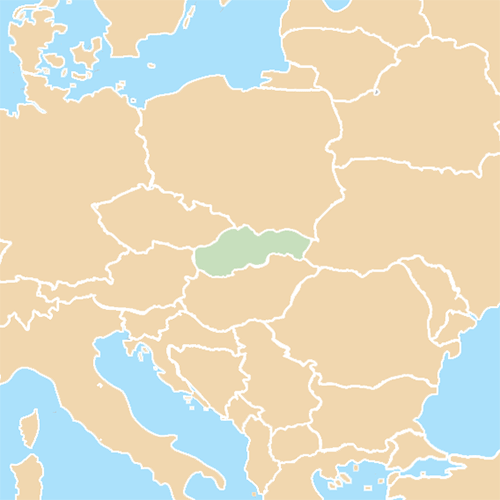 Countries answer: SLOVAKIA