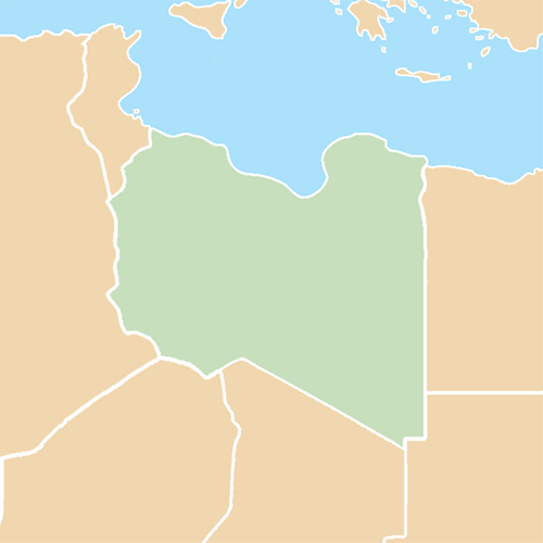 Countries answer: LIBYA