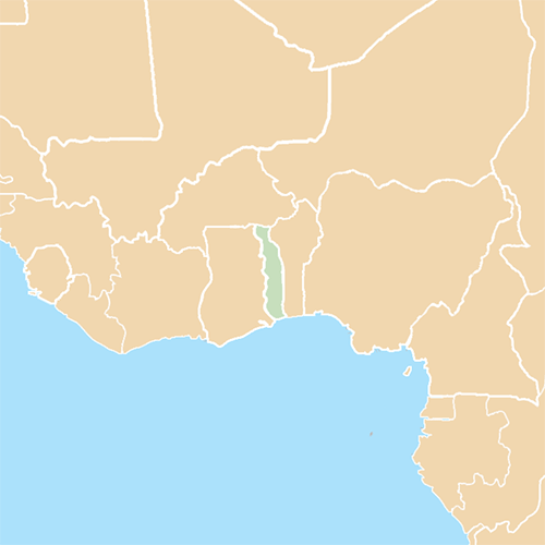 Countries answer: TOGO