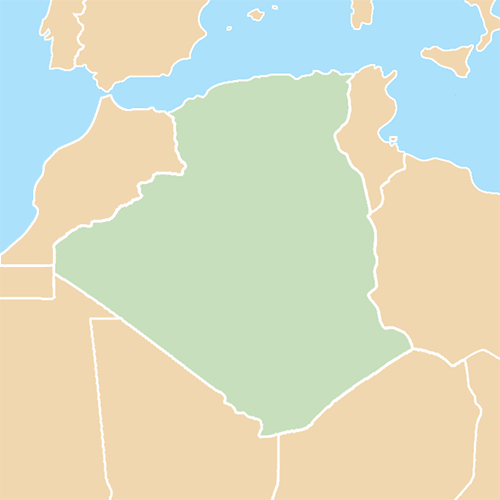 Countries answer: ALGERIA