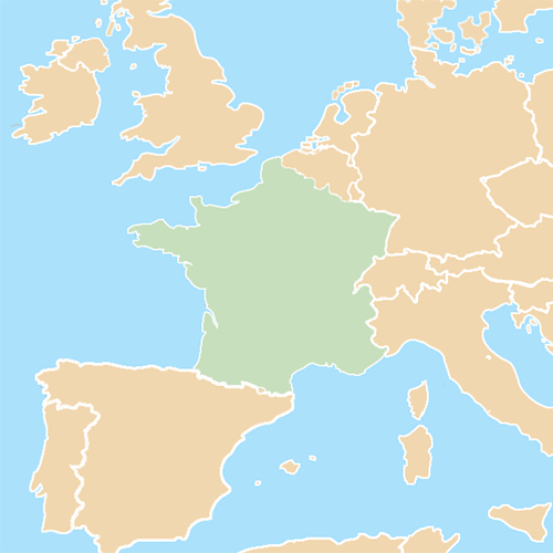 Countries answer: FRANCE