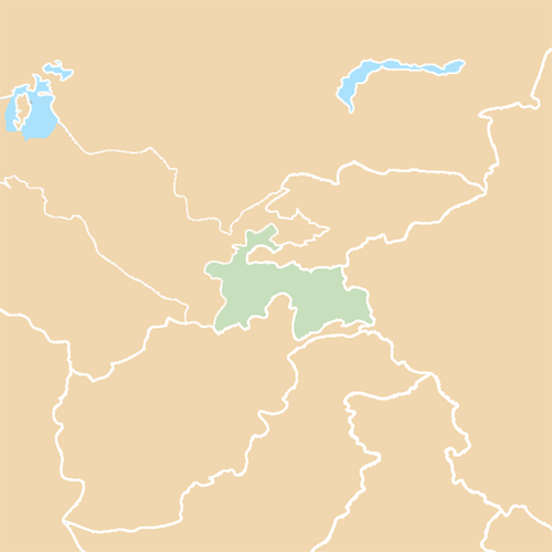 Countries answer: TAJIKISTAN