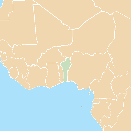 Countries answer: BENIN