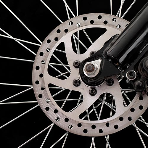 Cycling answer: DISC BRAKE