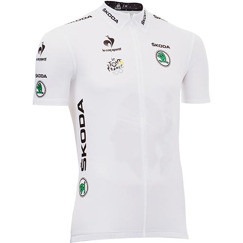 Cycling answer: WHITE JERSEY