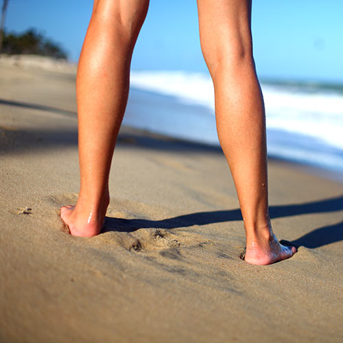 Desert Island answer: BAREFOOT