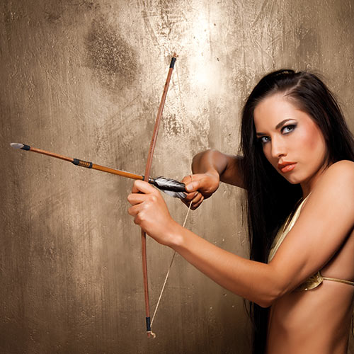 Desert Island answer: BOW AND ARROW