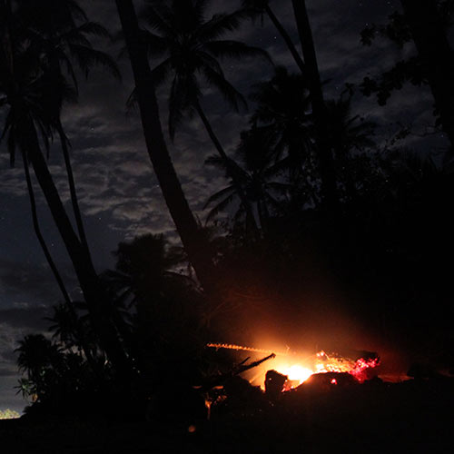 Desert Island answer: CAMPFIRE