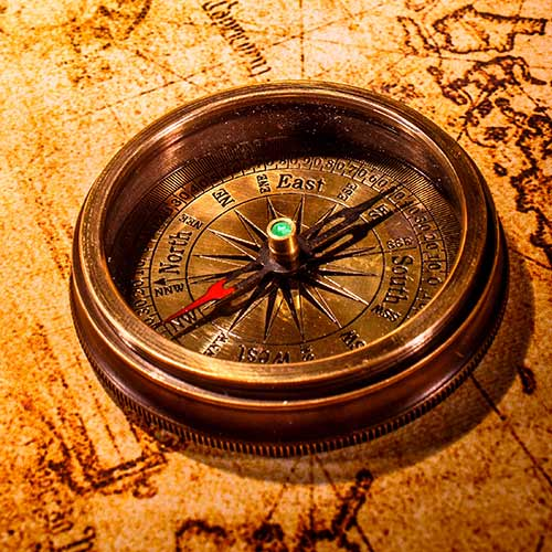 Desert Island answer: COMPASS