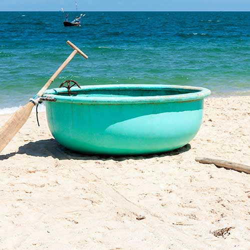 Desert Island answer: CORACLE