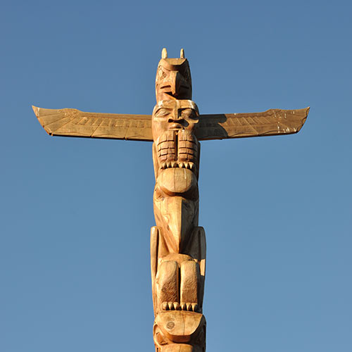 Desert Island answer: TOTEM POLE