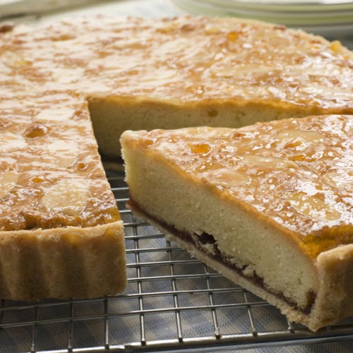 Desserts answer: BAKEWELL TART