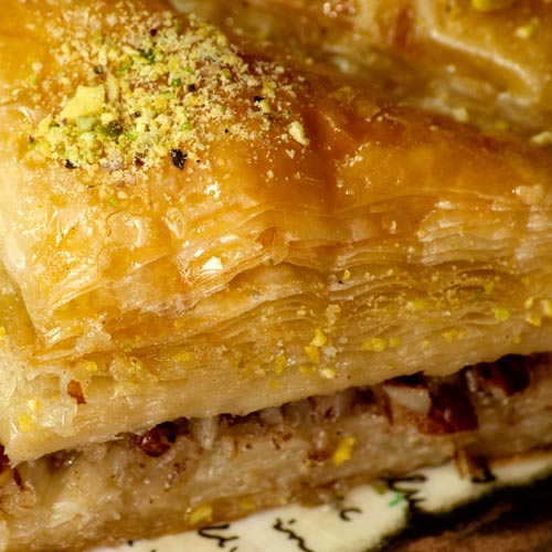 Desserts answer: BAKLAVA