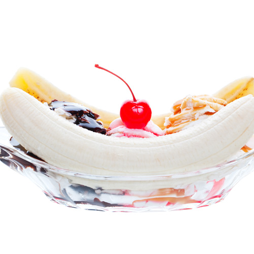 Desserts answer: BANANA SPLIT