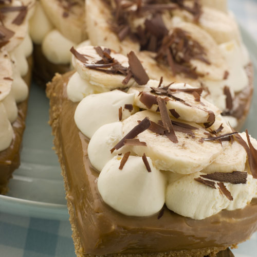 Desserts answer: BANOFFEE PIE