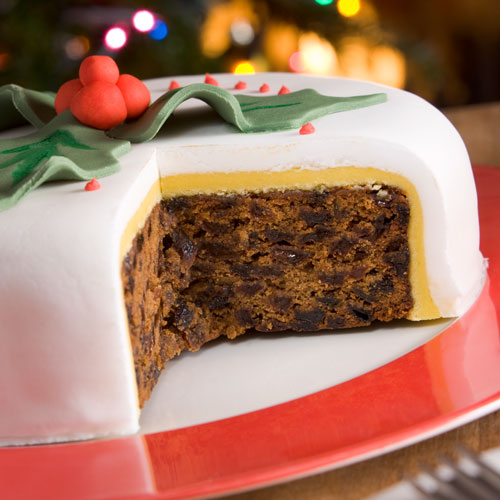 Desserts answer: CHRISTMAS CAKE