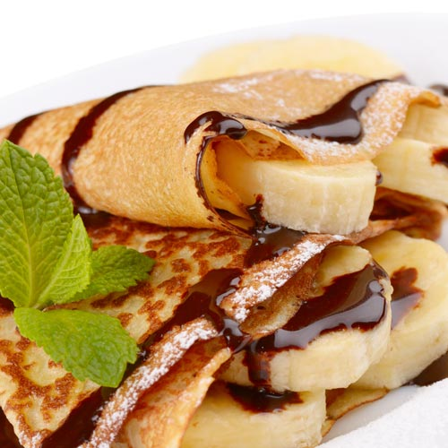 Desserts answer: CREPES