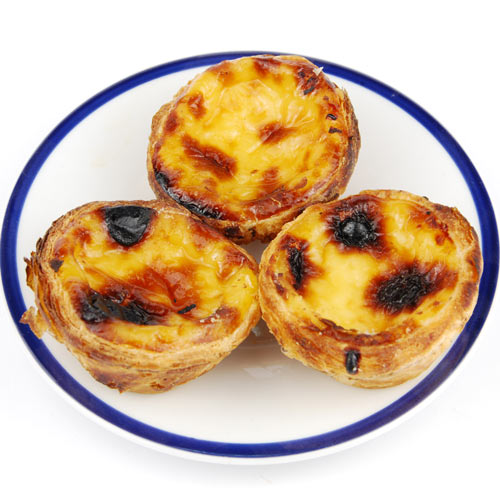 Desserts answer: CUSTARD TARTS