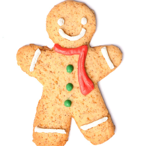 Desserts answer: GINGERBREAD MAN