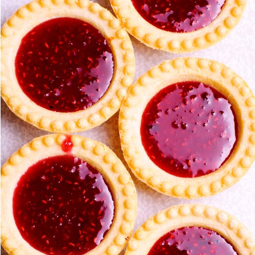 Desserts answer: JAM TARTS
