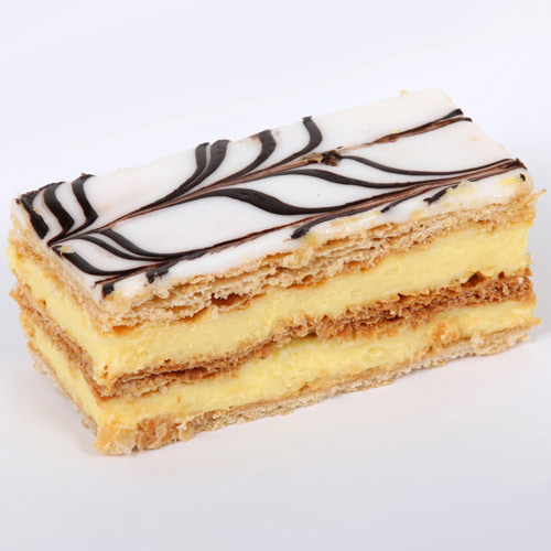 Desserts answer: MILLE FEUILLES