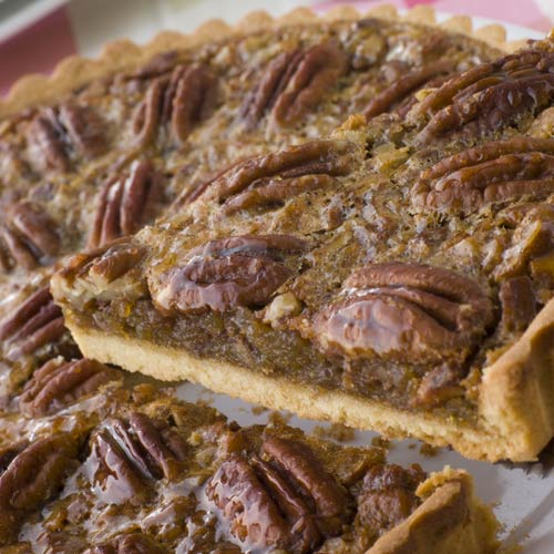 Desserts answer: PECAN PIE